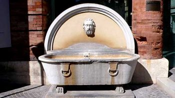 Antike Badewanne