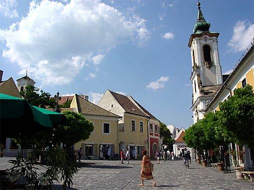 Mediterrane Atmosphäre in Szentendre an der Donau