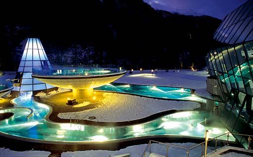 Therme Aqua Dome Längenfeld Tirol