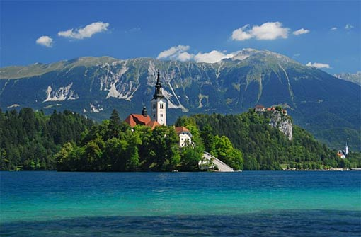 Bled in Slowenien Urlaub Kur Wellness