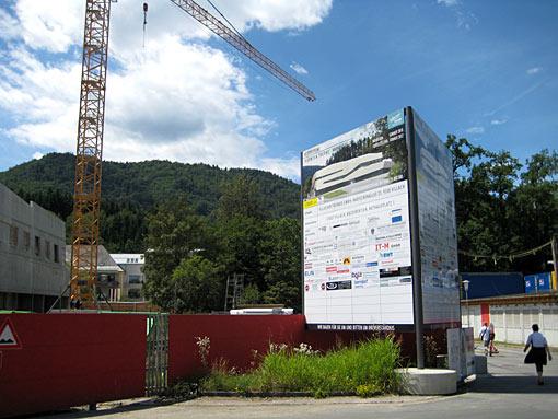 Warmbad Villach Baustelle Kärnten Therme