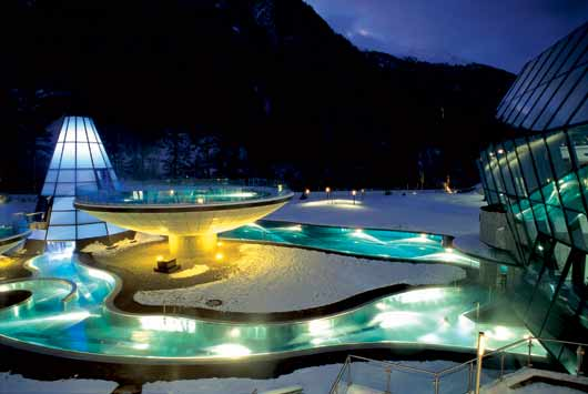 Aqua Dome Therme Längenfeld im Tiroler Ötztal