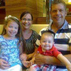 Zufriedene Stammgäste - Familie Schuster aus Oggau