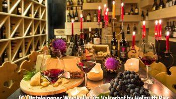Weinkeller im Hotel Valserhof