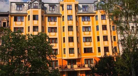 Hotel Prezident in Karlsbad